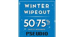 It's a WINTER WIPEOUT at PSEUDIO!