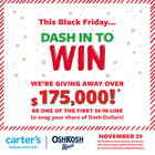 DASH IN TO WIN!