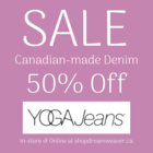 Yoga Jeans - 50% Off Sale