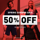 A|X Armani Exchange Spring Summer Sale