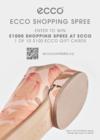 ENTER TO WIN A $1000 SHOPPING SPREE AT ECCO