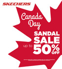Canada Day Sandal Sale
