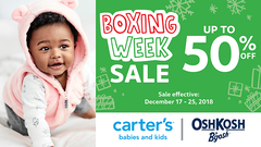 Boxing Week Sale - Up to 50% off!