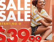 SAVE UP TO 30% OFF ATHLETIC SHOES*