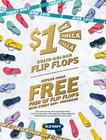 24K Flip Flop Day…One Dolla Balla! Today Only - $1 Solid Flip Flops (Sat 6/15)