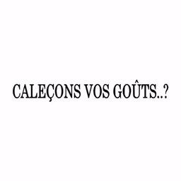 Calecons Vos Gouts