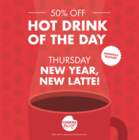 January Feature Drink - New Year, New Latte!
