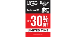 Ladies' Up to 30% off Limited Time