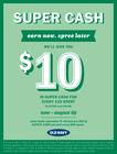 Make Money Move! SUPER CA$H IS BACK!! 6/11-8/29 !