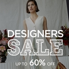 Designers Sale! Up to 60% off