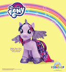 My Little Pony Fans! Twilight Sparkle Is Back at Build-A-Bear Workshop!®