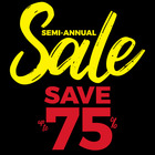Our Semi-Annual Sale is on now!