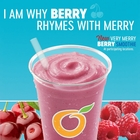 NEW Very Merry Berry Fruit Smoothie! Available for a limited time only