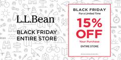 L.L.Bean BLACK FRIDAY SALE