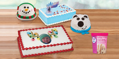 FREE Pre-Pack When You Pre-Order Any Holiday Cake