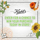 Play to Win Your Purchase In-Store at Kiehl's!