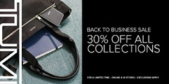 Back to Business 30% OFF ALL COLLECTIONS