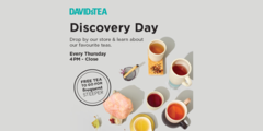 DAVIDsTEA Discovery Day