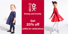 DRESSY and COMFY : Get 20% off outfits for celebrations