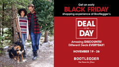 Bootleggerâ  s Deal of the Day â    A new deal every day!