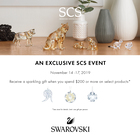 An Exclusive SCS Promotion!