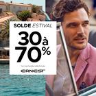 Obtenez de 30 à 70% sur la marchandise sélectionnée dès maintenant en magasin et en ligne!