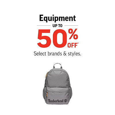 Equipment Up To 50% Off!