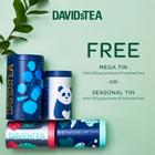 Free tin with loose leaf tea purchase