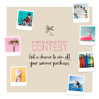 CONTEST ALERT! Win all your summer purchases