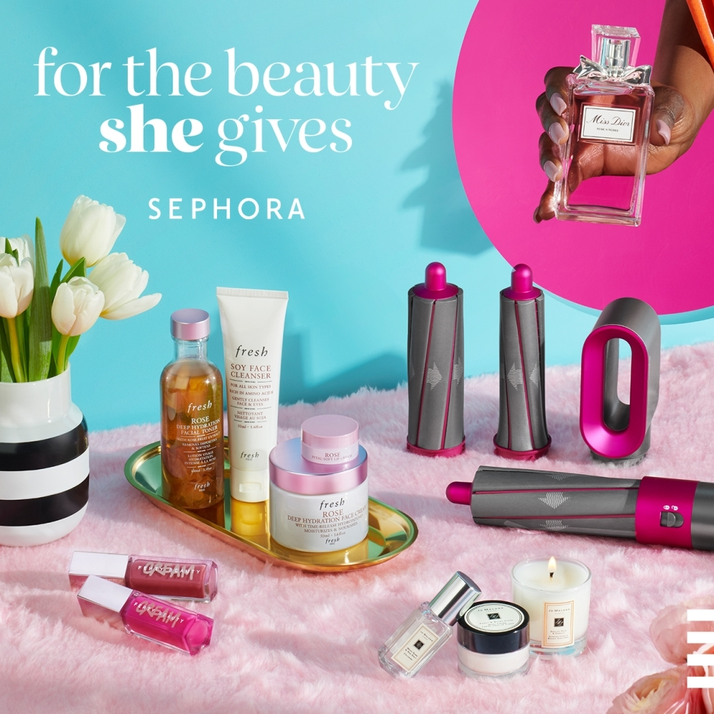 Celebrate Mom for the beauty she gives with Sephora