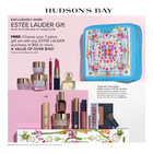 ESTEE LAUDER GIFT WITH PURCHASE AT HUDSON'S BAY