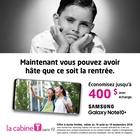 Économisez jusqu'à 400 $ sur un nouveau Samsung Galaxy S10 ou S10+ avec échange.