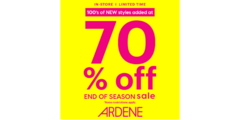 Our BIGGEST end of season sale continues!