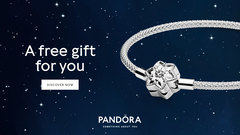 Sparkle this holiday with a limited edition Pandora Moments Snowflake bangle. Yours free with any purchase of $150 or more.