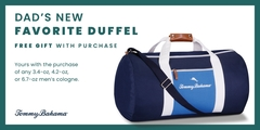 Celebrate Dad with a free duffel bag