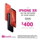 Get iPhone XR and save up to $400 when you trade-in