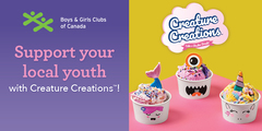 Support Your Local Youth with Creature Creations™
