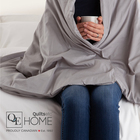 Our weighted blankets are back!