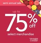 Yankee Candle's Semi-Annual Sale!