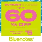 BLUENOTES - SUMMER STORIES SALE ON NOW!