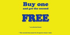 Buy One… Get One FREE Promotion