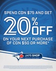 Spend $75, Get 20% Off Your Next Purchase