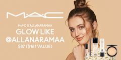 Glow All Out with M.A.C X ALLANARAMAA - $87 ($161 value)