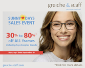 up to 80% off all frames