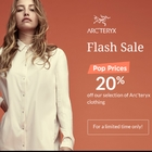 20% Off on Arc'teryx Women's and Men's Clothing at Simons.ca