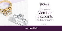 Be Brilliant & Save at Michael Hill