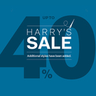 Harry's Sale - We've tailored our prices.