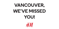 Vancouver, we've missed you!