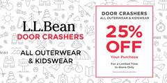 L.L.Bean - DOOR CRASHERS - Nov. 27th