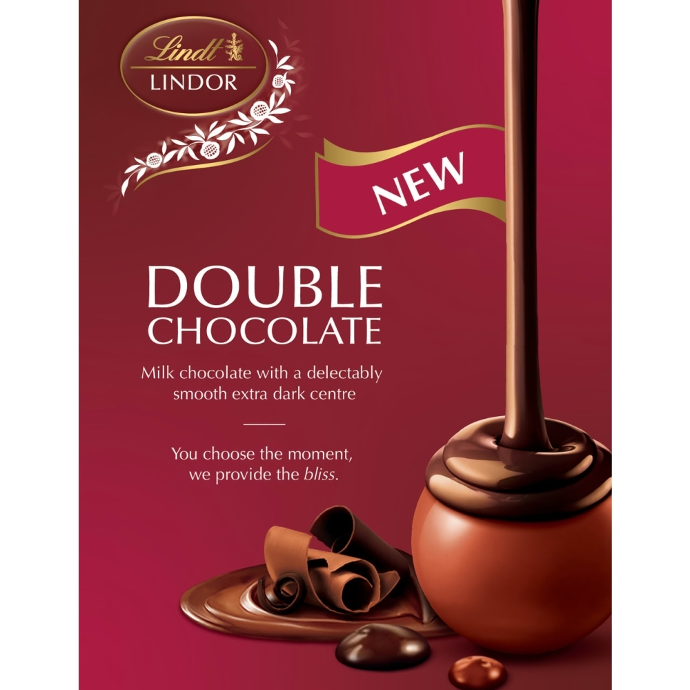 NEW LINDOR Double Chocolate!